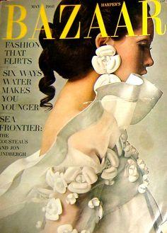 Harper's Bazaar-May 1968  Harper's Bazaar Fashion Magazine, May 1968. Cover:Model Cathee Dahmen