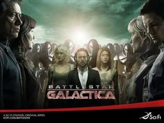 Watch Full Episodes of Battlestar Galactica - Free! View clips and read recaps! Stay up-to-date and watch Battlestar Galactica anytime and anywhere on SYFY! Sci Fi Shows, Tv Shows, Movies, Music Book, Battlestar Galactica, Bear Mccreary, Sci Fi Books, Tv, Tv Series