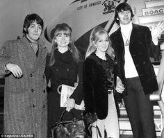 maureen starkey and jane asher | ... Ringo Starr (with Jane Asher and Maureen Starkey) fly to India in 1968