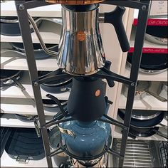 Williams Sonoma Tapered Tea Kettle Tower – Fixtures Close Up Perfect Cup Of Tea, Williams Sonoma, Kettle, Cookware, Brewing, Kitchen Decor, Tea Cups, Tower, Retail