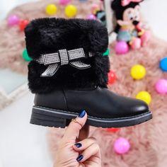 Cizme copii Raimona negre Ugg Boots, Uggs, Winter, Casual, Shoes, Fashion, Winter Time, Moda, Zapatos