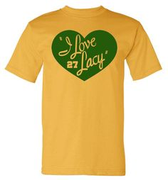 I love Lacy  Green Bay Packers Shirt Tee Ed Eddy Lacy by duceTWO