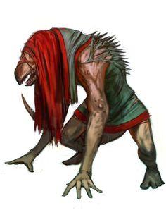 Bestial Mutant by johnariosa.deviantart.com on @DeviantArt