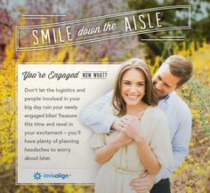 Enter the #Invisalign Pin to Win Sweepstakes for a chance to win. One Grand prize winner will receive free Invisalign treatment and a wedding photography package -grand prize valued at $8500! Enter through June 30, 2014. #WeddingPlanning #Bride #Sweepstakes