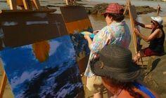 Taller de pintura para gente ciega: Una forma de ver / Profesores: Rogelio Osorio y Marcela Cozzo (Montevideo, Uruguay)