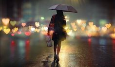 people walking away in the rain - Google Search