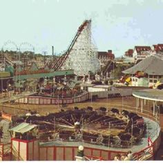 Paragon Park ~ Nantasket Beach... My very first wooden roller coaster ride.. I was 9.. Been in love ever since!!