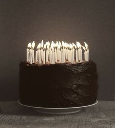 A little cake with your candles!