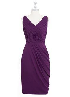 AZAZIE JORDYN. Jordyn is a knee-length, sheath dress made with chiffon…