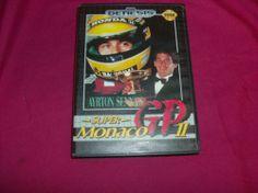 Super Monaco GP II (Sega Genesis, 1990) 2 Ayrton Senna Complete