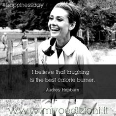 Audry Hepburn quote on happiness