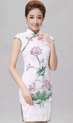 Cheongsam Dress OBN043l