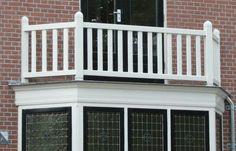 Balcony, Fence, Terrace, Home And Garden, Windows, Design, Future, Google, White Cabinets