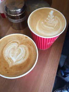Lattes, Cafe Boreal, Geneva, Switzerland