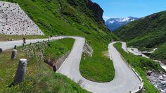 Gotthard (Airolo - Via Tremola) Alps, Sidewalk, Mountains, Nature, Travel, Italia, Naturaleza, Viajes, Sidewalks