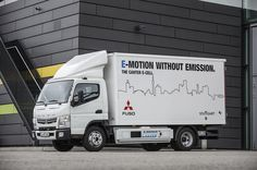 The Mitsubishi electric truck that's delivering the future