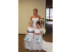 Bride and Flower girl's