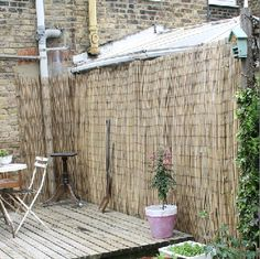 Bamboo Fencing Garden Makeover by Joanna Thornhill for Stylist's Own. The Great Garden fakeover.