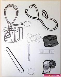 doctor bag template | Crafts and Worksheets for Preschool,Toddler and Kindergarten