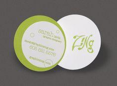 business card, A friends business card!