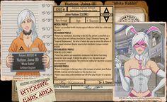 Arkham Files - White Rabbit by Roysovitch on DeviantArt