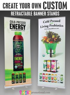 Create your own custom retractable pop up banner stands, these are made for superior portability; perfect for your trade show display, presentations, conferences and more! No set up or art charges, low prices and quick turn around!  Use coupon code PINBANNER10 and receive 10% off your banner stand order!  Sale applies to all banner stands, banner stand packages and banner stand hardware and accessories.  Not valid with other coupon codes and expires 4.4.17. #bannerstand