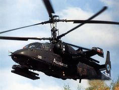 Russia's Ka-52 Attack Helicopter