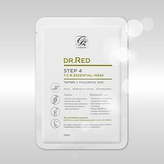 DR. RED step4 T.C.R essential mask