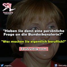 Hallo Frau Merkel...