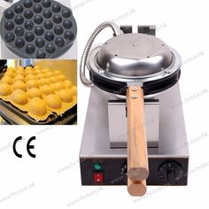 (737.00$)  Watch now  - Free Shipping 4 units  lot 110V 220V Stainless Steel Electric Eggettes Egg Waffle Maker Baker Machine Iron
