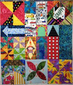 "Susan's Quilt Creations: Part 1 of ""My Small World"" by Jen Kignwell"