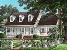 Country House Plan, 063H-0087