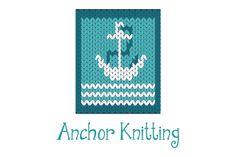 A logo that represents a knitted anchor. The logo is for sale here: http://www.stronglogos.com/product/anchor-knitting