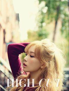 SNSD Taeyeon High Cut Magazine