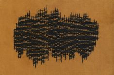 Ana Lisa Hedstrom, Smocking pleater stitch resist on silk, 2008. Photo by Don Tuttle