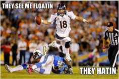 They see me floating lol
