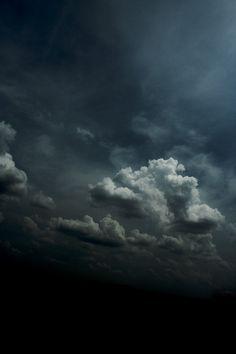 heavy rain clouds