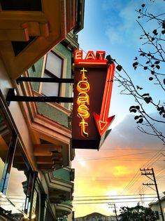 Eat Toast, Noe Valley, San Francisco