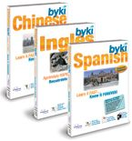 BYKI Deluxe 4  Over 70 language, access to over 1000 words and phrases, engaging flash card format.  Pronunciation Practice  Multiple Testing modes  Progress Tracking  Games!  Everything designed to present appropriate material at the right intervals to move the material from short-term to long-term memory.