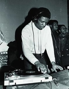 1975 | Flash's partner, Mean Gene, has a thirteen-year-old-brother named Theodore that is also beginning to DJ at local parties. After accidently sliding the record under the needle; a young Grand Wizard Theodore takes DJing a step forward by pushing the record back and forth lightly under the needle during breaks. He calls his new technique 'scratching.'