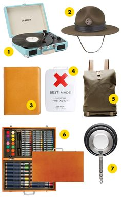 camping products inspired by Moonrise Kingdom via #*DesignSponge
