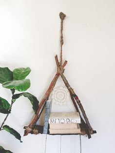 DIY Hanging Free Library | Free People Blog #freepeople