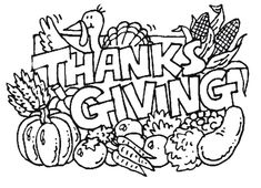 african american thanksgiving coloring pages - photo#36