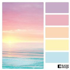 Color Palette Paint Inspiration Paint Colors Paint Palette Color Design Ins. Pastel Color Scheme, Colour Pallette, Colour Schemes, Pastel Colors, Color Combos, Pastel Palette, Sunset Palette, Lip Colors, Rainbow Palette