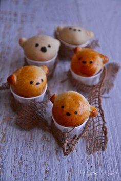 Sweet Honey Bread Bears
