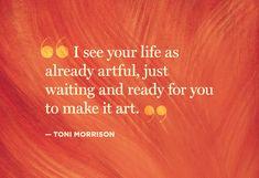 by Toni Morrison