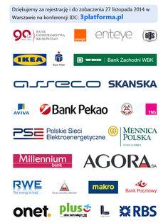 Mamy już bardzo porządną grupę uczestników zarejestrowanych na konferencję, w większości osoby zarządzające. Skorzystaj z okazji do networkingu i skorzystaj z puli bezpłatnych wejściówek: http://3platforma.pl/?utm_source=3rd-Pint-uczestnicy&utm_medium=3rd-Pint-uczestnicy&utm_term=3rd-Pint-uczestnicy&utm_content=3rd-Pint-uczestnicy&utm_campaign=3rd-Pint-uczestnicy
