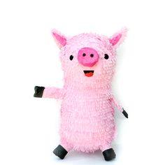 #Farm #Pig #Pinata - fun for a party!