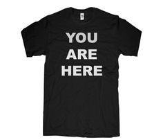 Men's You Are Here Tee