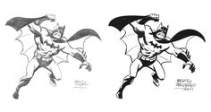 BATMAN pencil and ink by ~benitogallego on deviantART